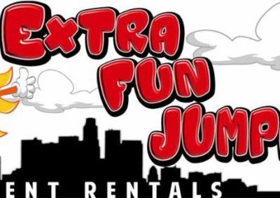 Extra Fun Jumpers Logo